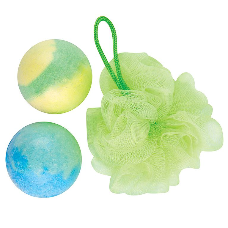 OOOZi-Slimy Bath Bursts-Set-Green