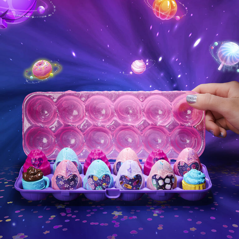 Hatchimals CollEGGtibles, Cosmic Candy Limited Edition Secret Snacks 12-Pack Egg Carton