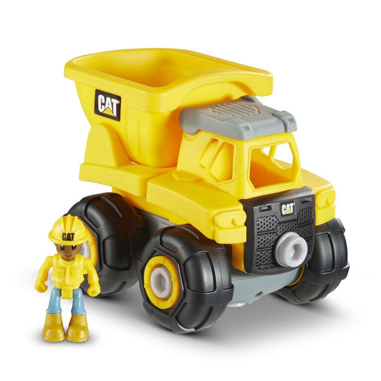 Cat Build Your Own Vehicle Junior Crew Dump Truck