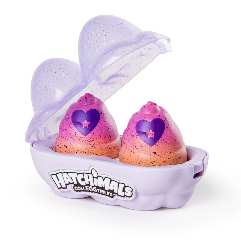 Hatchimals CollEGGtibles - 2-Pack Egg Carton with Special Edition Season 4 Hatchimals CollEGGtibles (Styles and Colors May Vary)