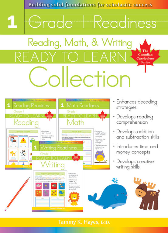 Grade 1 Readiness Collection - English Edition