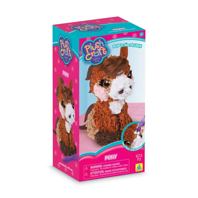 PlushCraft Pony 3D