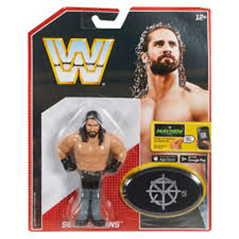 WWE Seth Rollins Retro App Action Figure