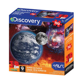 Howard Robinson - Earth And Moon 150 Pieces - 3D Puzzles