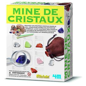 4M Crystal Mining - French Edition