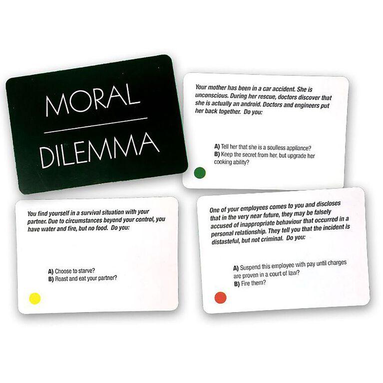 Moral Dilemma Game