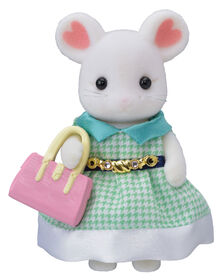 Calico Critters Town Girl Series - Marshmallow Mouse
