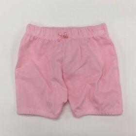 Coyote and Co. Shorts à taille élastique - Rose - de 9 à 12 mois.
