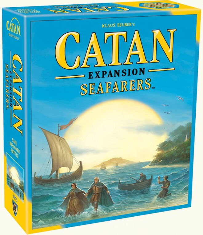 Catan Game - Seafarers Expansion - English Edition