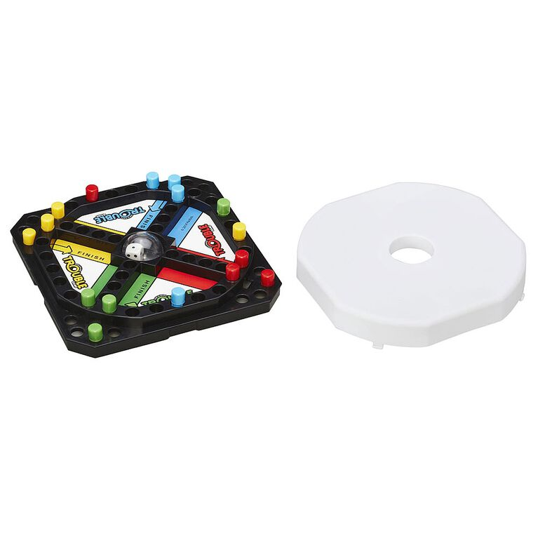 Hasbro Gaming - Pop-O-Matic Trouble Grab & Go Game