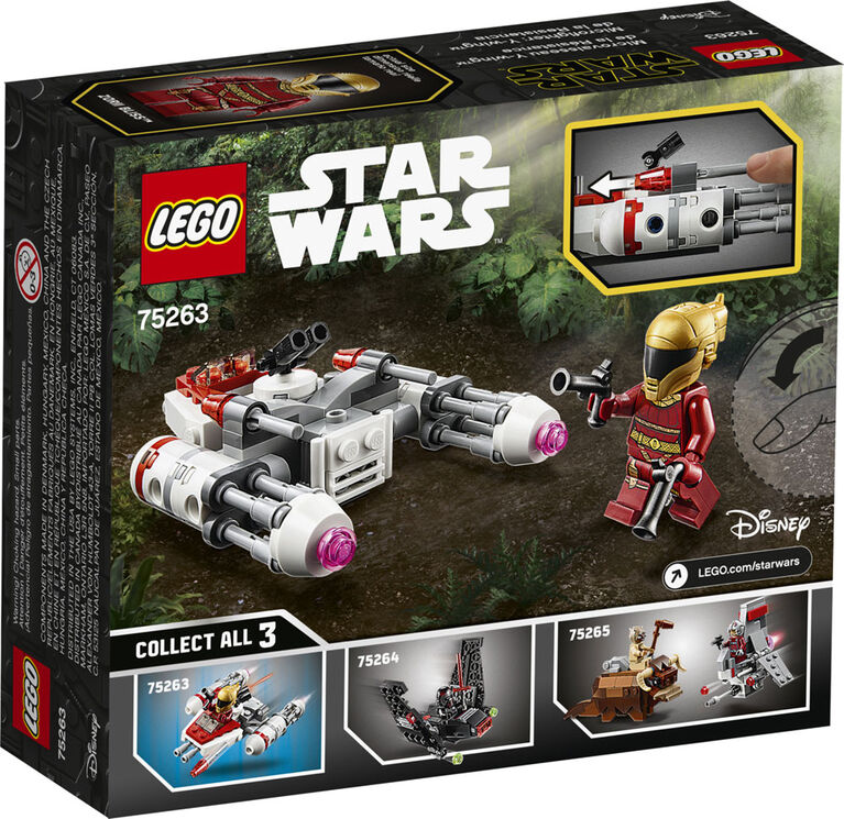 LEGO Star Wars TM Microfighter Y-wing de la Résistance 75263