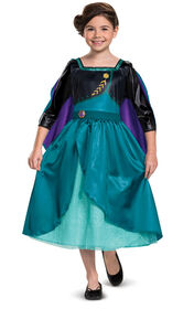 Queen Anna Classic Costume - 4-6 Years