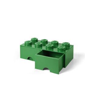 Tiroir de rangement LEGO 8 vert