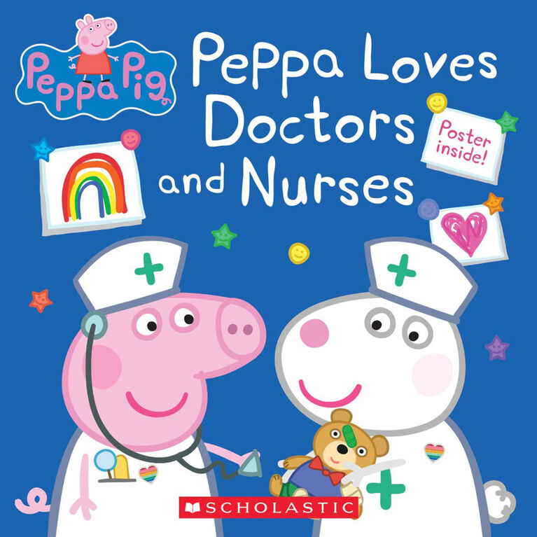 Scholastic - Peppa Pig - Peppa Loves Doctors and Nurses - English Edition