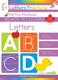 My First Letters Workbook - Édition anglaise
