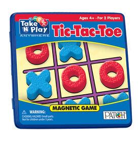 Jeux de voyage magnétiques Tic, Tac, Toe