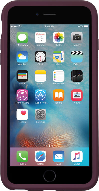Étui Symmetry d'OtterBox pour iPhone 6/6s rose/violet
