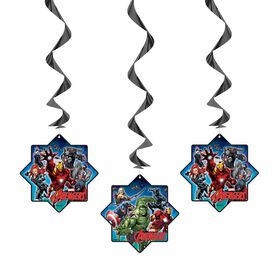 "Avengers Hanging Decor 26"", 3 pieces"