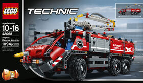 LEGO Technic Le véhicule de secours de l'aéroport 42068