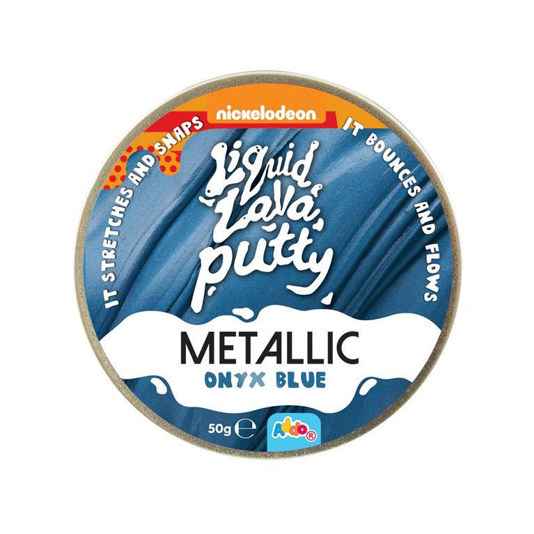Nickelodeon Liquid Lava Putty Metallic Onyx Blue - Notre exclusivité