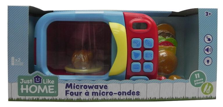 Just Like Home – Four à micro-ondes - Bleu