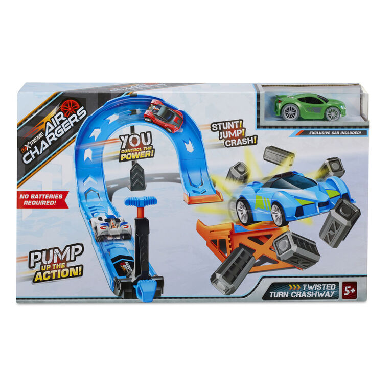 Air Chargers Twisted Turn Crashway Playset