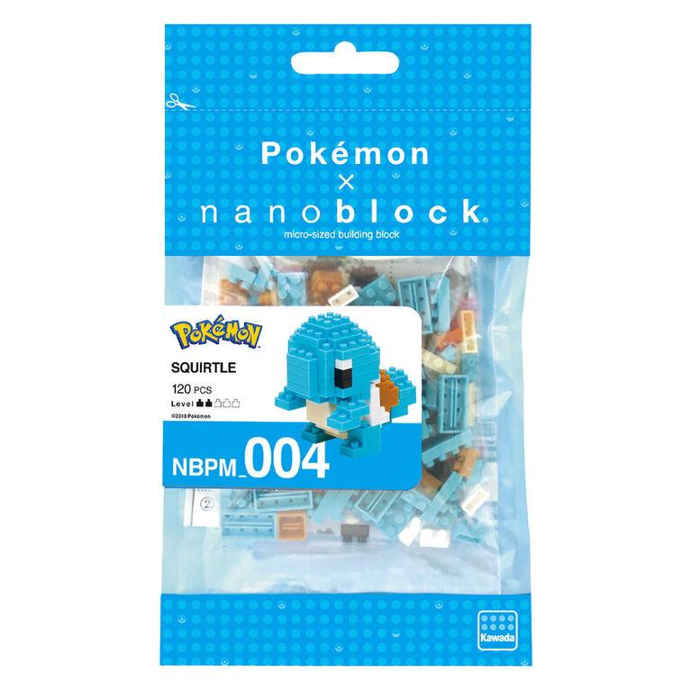 Squirtle Nanoblock - English Edition