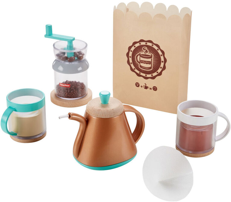 Fisher -Price Pour Over Coffee Set