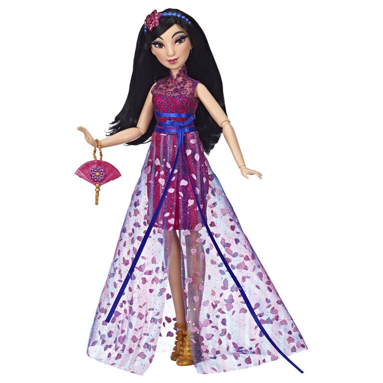 Disney Princess Style Series, Mulan Doll in Contemporary Style with Purse and Shoes