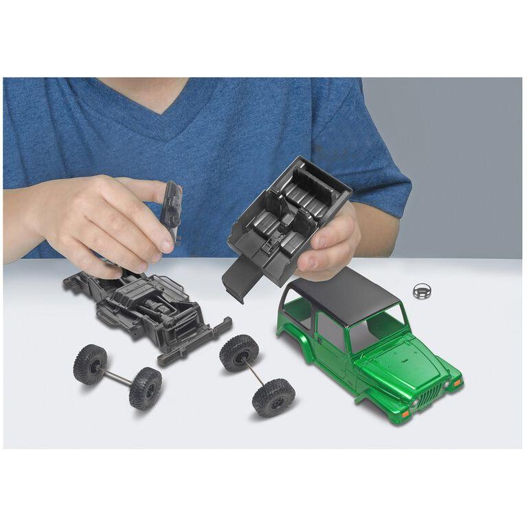 Revell Jeep Wrangler Rubicon - Maquette