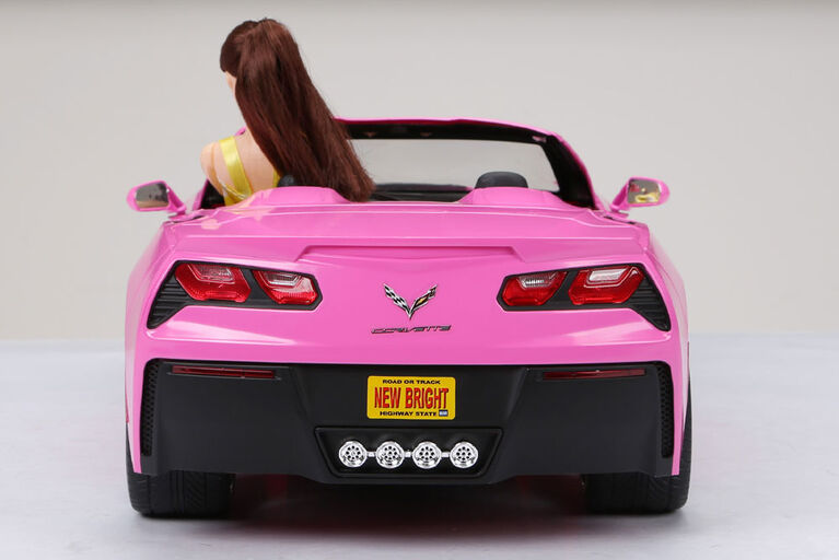 1:8 Remote Control Chargers Corvette - Pink