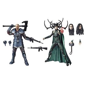 Marvel Legends Series Thor: Ragnarok - Pack de 2 figurines Skurge et Marvel's Hela.