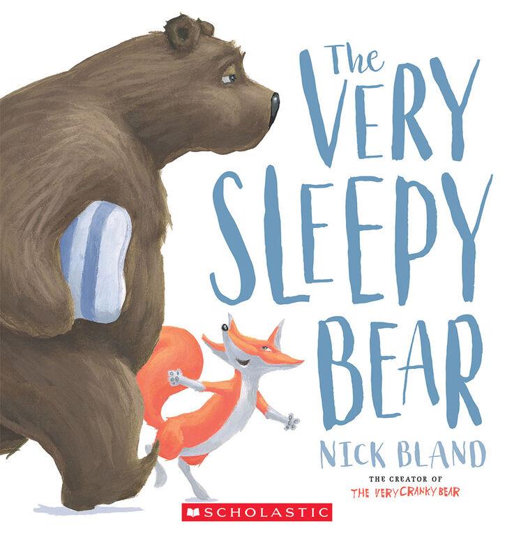 Scholastic - The Very Sleepy Bear - Édition anglaise