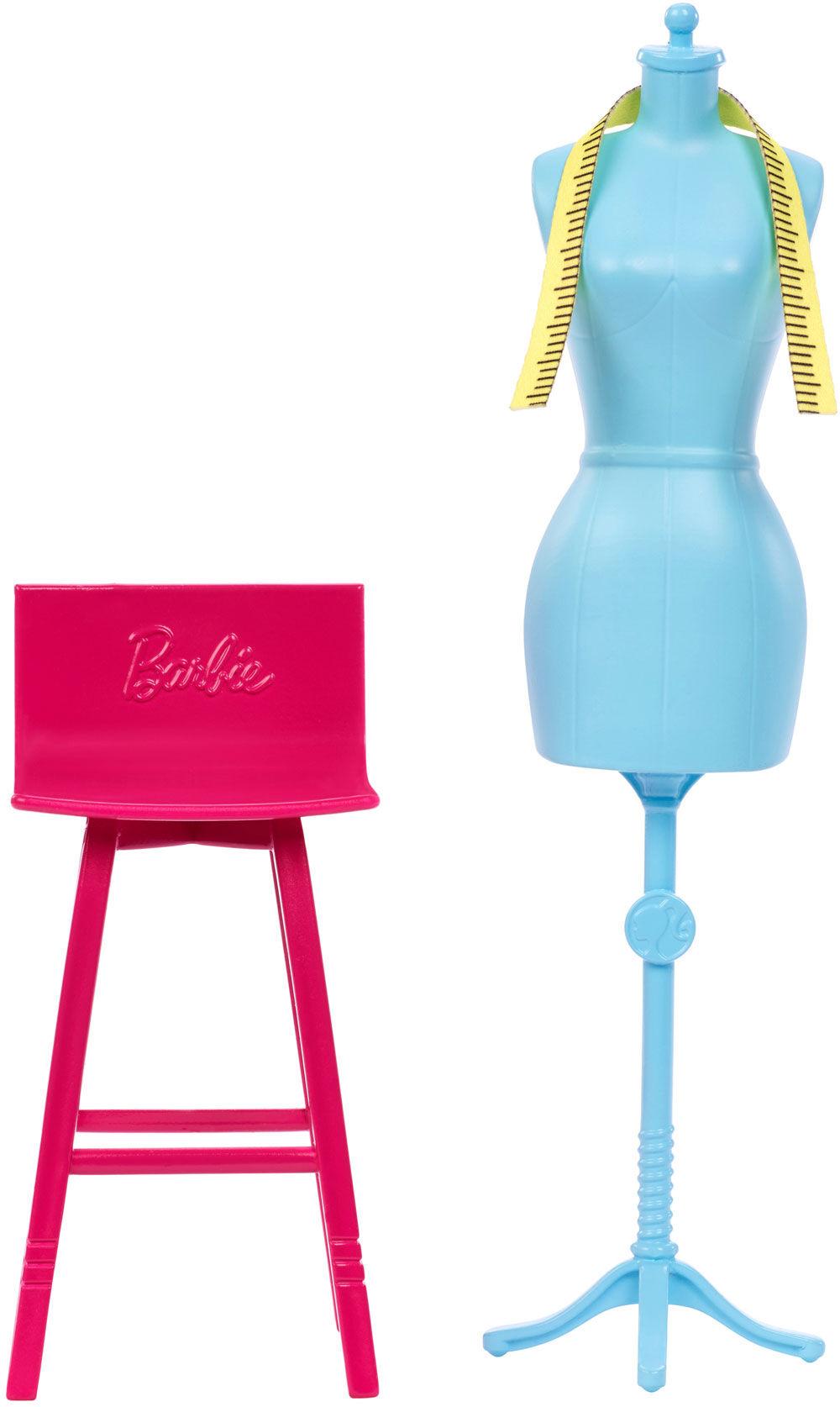 Barbie Career Places Fashion Design Studio Play Set