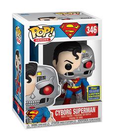 Figurine en Vinyle Cyborg Superman par Funko POP! DC Comics (Convention D'été Exclusive) - R Exclusif