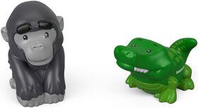 Fisher-Price Little People Alligator & Gorilla