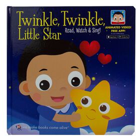 My First Video Book Twinkle Twinkle Augmented Reality Story Book.