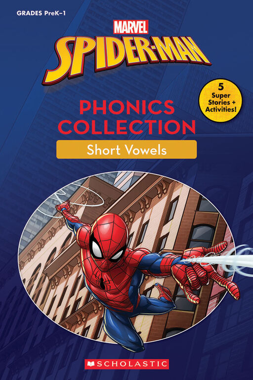 Scholastic - The Amazing Spider-Man: Phonics Collection - English Edition