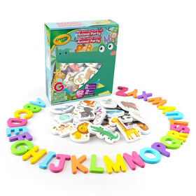 ABC Matching Magnet Set - Animal Party