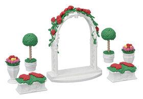 Calico Critters Floral Garden Set