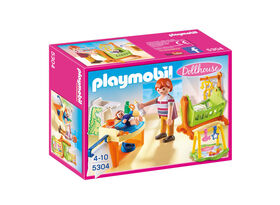 Playmobil - Baby Room with Cradle (5304)