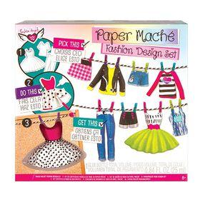 Paper Mache Fashion Design Portfolio.