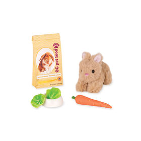 Our Generation, Pet Bunny Set, Plush Pet for 18-inch Dolls