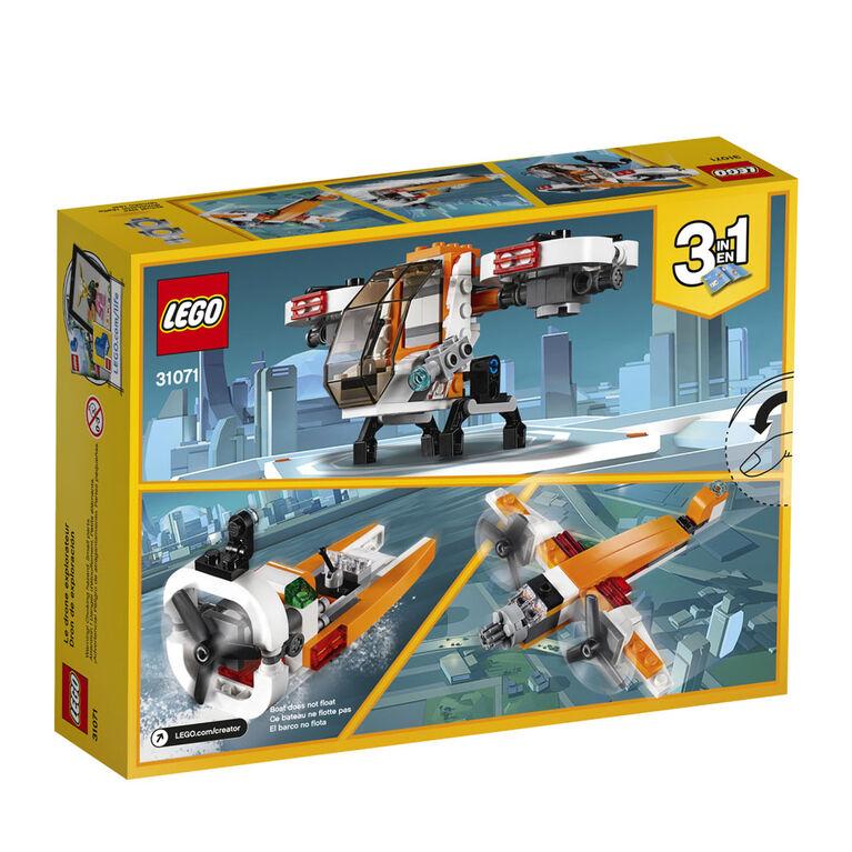 LEGO Creator Le drone d'exploration 31071