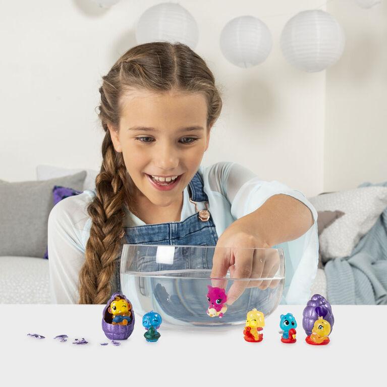 Hatchimals CollEGGtibles, Mermal Magic 12 Pack Egg Carton with Season 5 Hatchimals (Styles May Vary)