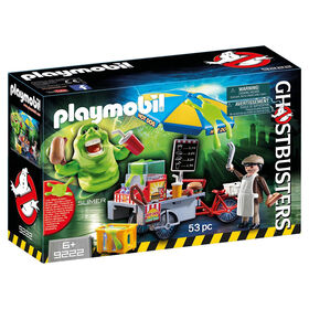 Playmobil - Ghostbusters Slimer with Hot Dog Stand