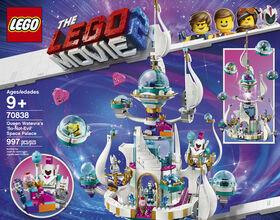 THE LEGO MOVIE 2 Le palais spatial de la Reine aux mille 70838