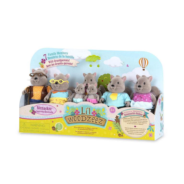 Li'l Woodzeez, Bustleberry Squirrel Family