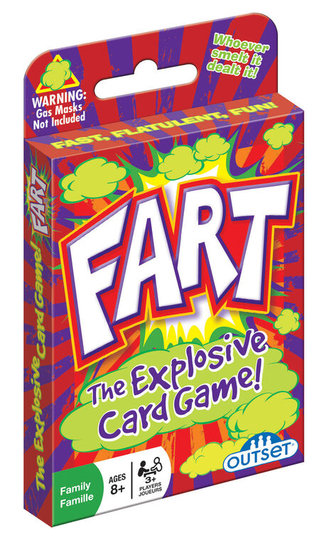 Fart Card Game - English Edition