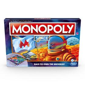 Monopoly Espace, jeu de plateau sur le thème de l'espace - Édition anglaise - Notre exclusivité